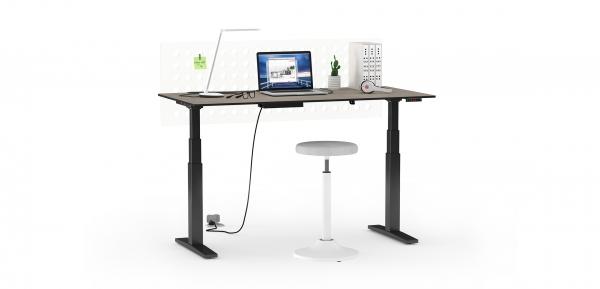 Стол с электрическим регулированием высоты