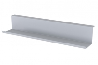 Кабельный канал для проводов и розеток под стол металлический