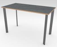 Стол офисный БИС Сланец 1200x600 фанера