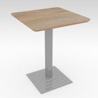 Стол барный ROMA Дуб Натуральный 600x600 фанера