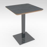 Стол барный ROMA Сланец 600x600 фанера