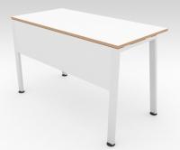 Стол офисный TRAPECIO Белый 1200x600 фанера