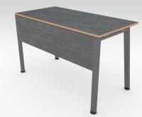 Стол офисный TRAPECIO Сланец 1200x600 фанера