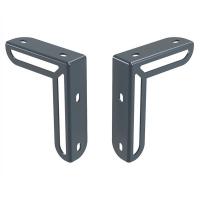 Кронштейн металлический 2 шт для крепления подстольного экрана ДСП - FORT