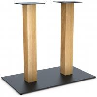 Опора Milano Double Wood для барного стола