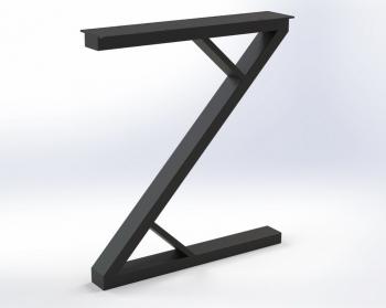 Металлическая Опора для стола ZW2